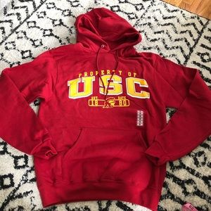 CHAMPION USC Trojans NCAA Sweatshirt with Hoodie